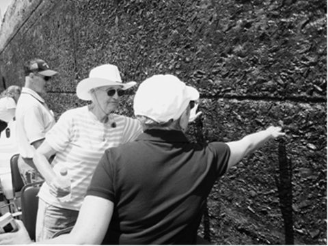 On the Panama Canal Experience tour you can reach out and touch the Canal walls.